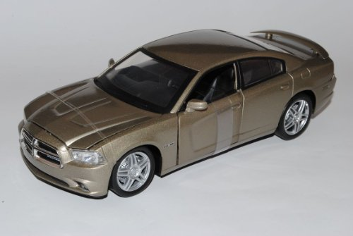 Dodge Charger R/T Limousine Grau 2005-2012 1/24 New Ray Modell Auto