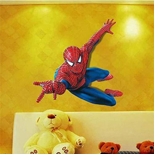 Kinderzimmer Dekoration Film Tv Spinne Wandaufkleber Cartoon Wandaufkleber Mode Coole Kindergeschenke