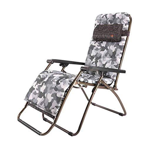 WJJJ Zero Gravity Recliner - Sillas reclinables de Playa reclinables para Siestas Sillas reclinables de Cubierta con reposacabezas y portavasos