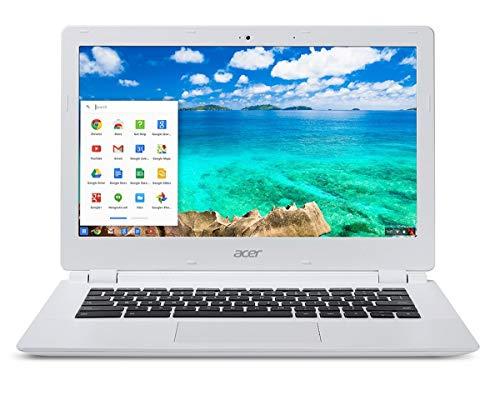 Acer 15.6 inches Chromebook Laptop CB5-571 Intel Celeron 3205U 2 GB 32GB EMMC Chrome White (Renewed)