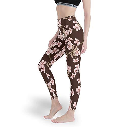 Mädchen Spaß Leggings Weich Yoga Hosen Nahtlos Capris Tights für Fitness White xs