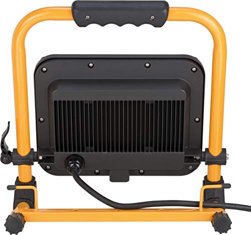 Brennenstuhl Mobiler LED Strahler JARO 5000 M / LED Baustrahler für außen IP65 (LED Arbeitsstrahler 50W mit 5m Kabel, LED Baustellenstrahler mit Schnellspannverschluss) - 6