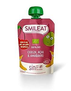 Smileat Smileat Pouch Cereza, Açai Y Amaranto Eco Envase Sostenible 100 g
