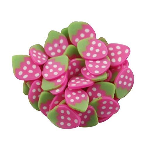 Nagelsticker 3D Nagel Kunst Fruchtscheibe Kristallschlammkleber Transparente Kristallmischung Nagelzubehör DIY Nail Art Aufkleber Dekoration (B)