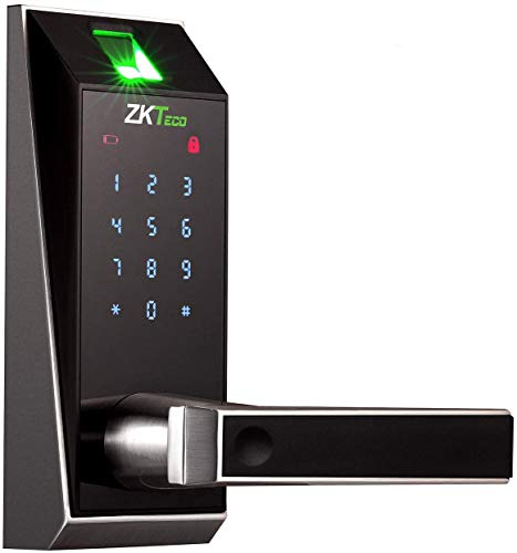ZKTeco Smart Door Lock, Keyless Entry Door Lock...