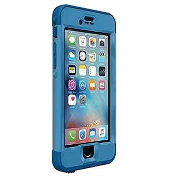 Lifeproof NÜÜD SERIES iPhone 6s ONLY Waterproof Case - Retail Packaging - CLIFF DIVE  BEACHY BLUE/CLEAR/STORMY SEAS BLUE