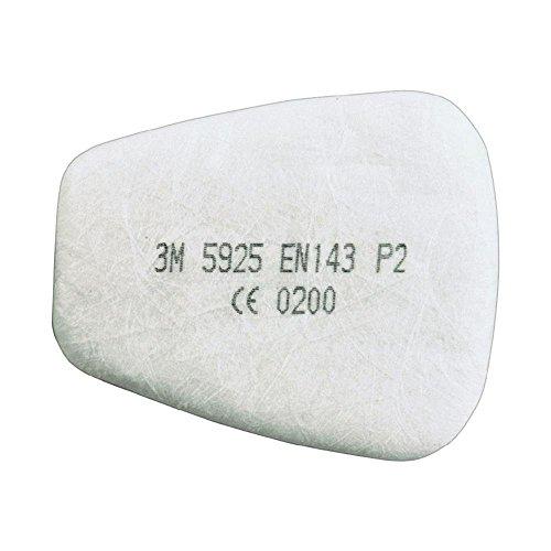 3M Partikel-Einlegefilter 5925, 1 Paar, P2R