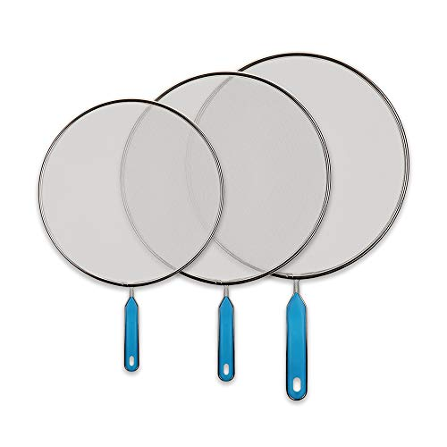 Grease Splatter Screen Guards - Mesh Stainless Steel Pan Pot Frying...