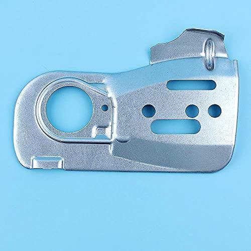 Placa protectora de guía de cadena compatible con Jonsered 2245, 2250, CS 2250S, CS2250 S II, CS 2245 2245S Motosierra 544094001 Pieza de repuesto