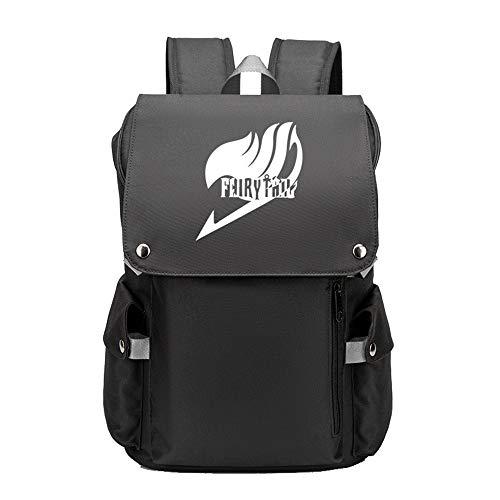 Mochila multifunción de gran capacidad para viajes, camping, senderismo, mochila impresa, unisex, color negro, talla 48 x 34 x 21 cm
