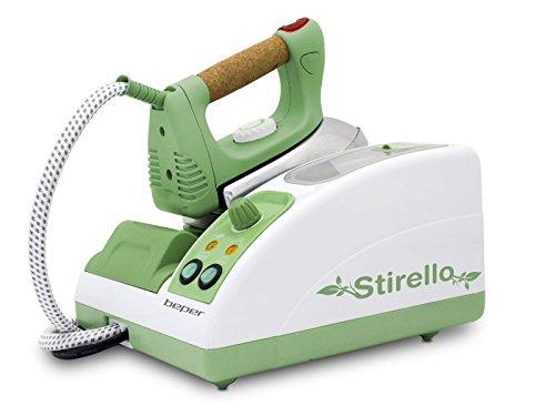 Beper 50,939-ferro plancha de vapor profesional, Color verde