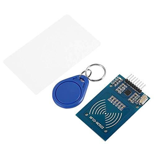 HYY-YY RFID - MFRC522 RF IC tarjeta sensor módulo kit con el llavero libre de la tarjeta S50 Fudan