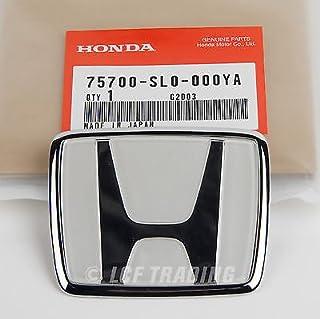 ملصق أمامي NSX أصلي أصلي لسيارة هوندا 75700-SL0-000YA بلاتيني أبيض