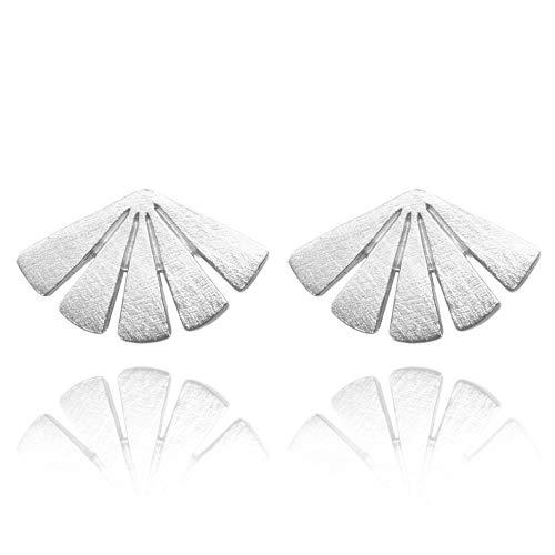 Pernille Corydon Ohrstecker Damen Silber Sonne Motiv - Dawn Serie - Ohrringe in Toller Echtschmuck Qualität Silber 925 - E590s