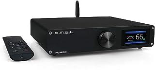 S.M.S.L AO200 Digital Amplifier Bluetooth 5.0 AMP MA12070*2 Chip 150W*150W Power Amplifier USB/BT/XLR/RCA Input 2 Channel ...