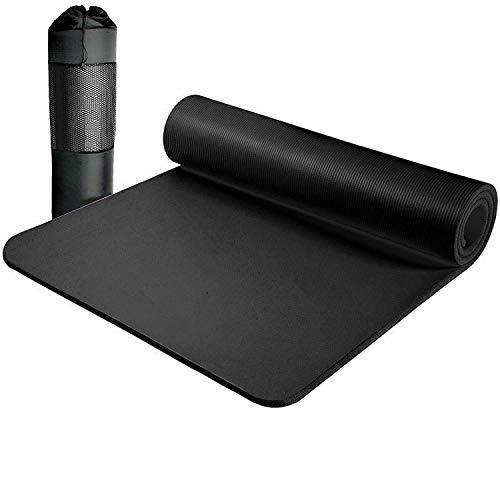 MICV Yogamatte schadstofffrei | umweltfreundlich | mit Tragegurt | für Yoga | Pilates