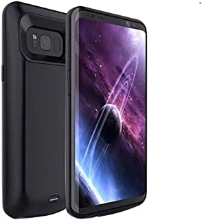 5000mAh External Battery Charger Case Portable Backup Battery for Samsung Galaxy S8 - Black