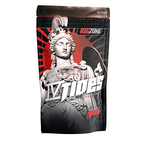 Big Zone 4 Tides | 4K - Mehrkomponent Proteine | Muskelaufbau, Protein, Whey, Shake1000g (Milchreis Zimt)