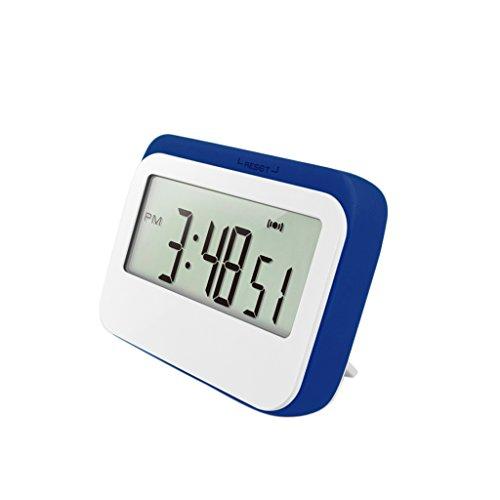 Magnetische Küchenuhr Küchentimer (Timer-, Stopp-Uhr-Funktion, Countdown) mit LCD Display, Batteriebetrieben #2 - Blau