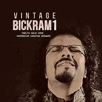 Vintage Bickram 1 (Tabla Solo Live 1998)