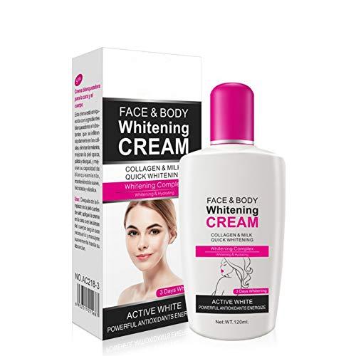 Crème Lait Corps Hydratant Réparateur-120ML-pour Tous Types de Peaux -Hydrate la peau endommagée-Gel s'absorbant facilement sans sensation grasse pour Femmes,Hommes,Enfants de Fairylove