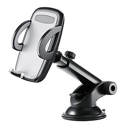 Soporte del parabrisas del coche Soporte del parabrisas del coche Soporte de GPS Xiaomi Samsung Teléfono móvil gris