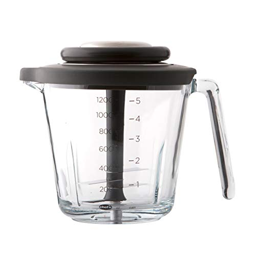 Chef'n VeggiChop Pro Manual Food Processor, 5 Cup Capacity