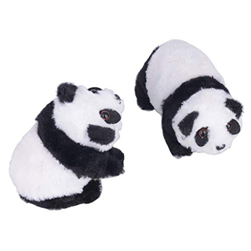 Gaddrt Panda Plüschtier Nettes elektronisches Gehen Mit Musikalischen Baby-Kindergeschenken
