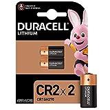 Duracell Pilas especiales de litio CR2 High Power de 6V, paquete de 2 unidades ( CR15H270 ) diseñadas para su uso en sensores, cerraduras sin llave, flash de cámara y linternas.