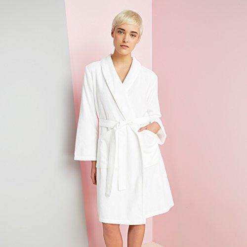 Kenzo Iconic Womens Bathrobe White Bathrobe: Large
