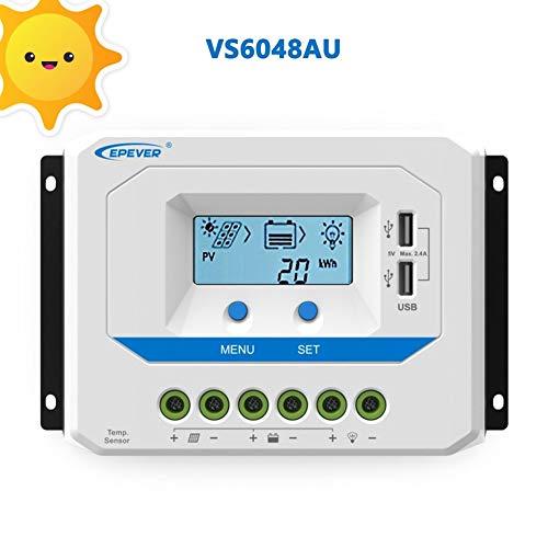 Epever PWM 60A Solarladeregler Gemeinsamer positiver Solarregler der VS6048AU-Serie