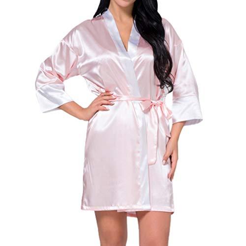 Adelina Kimono dames satijn kant perfecte nacht robe badjas bruiloft bruid mode complex bruidsmeisje robes ochtendjas