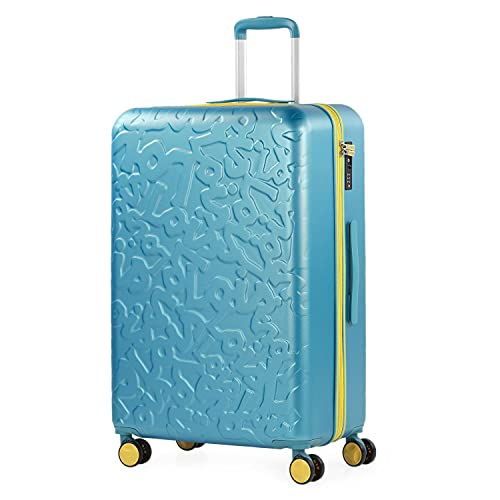 Lois - Maleta de Viaje Grande 4 Ruedas Trolley 75 cm...
