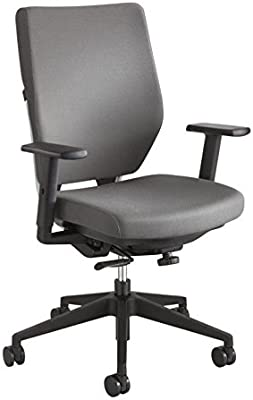 Safco Sol Task Chair with Arms in Gray