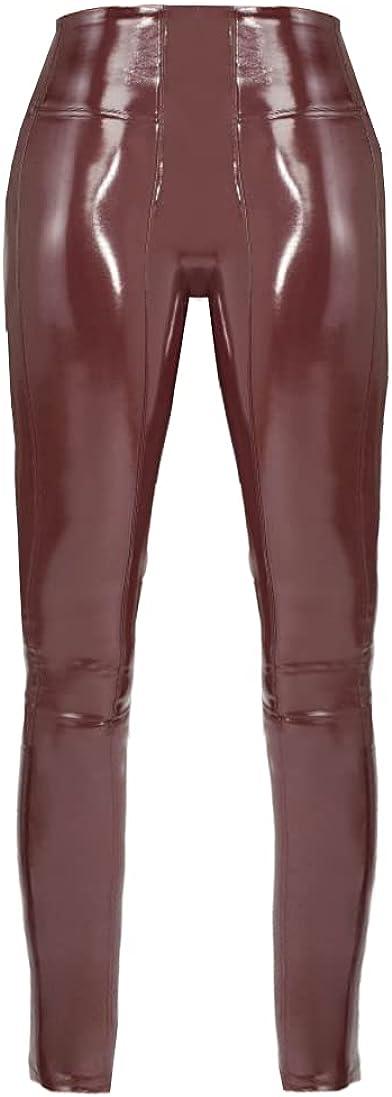 SPANX Women's Ruby Patent Faux Leather Leggings Pants
