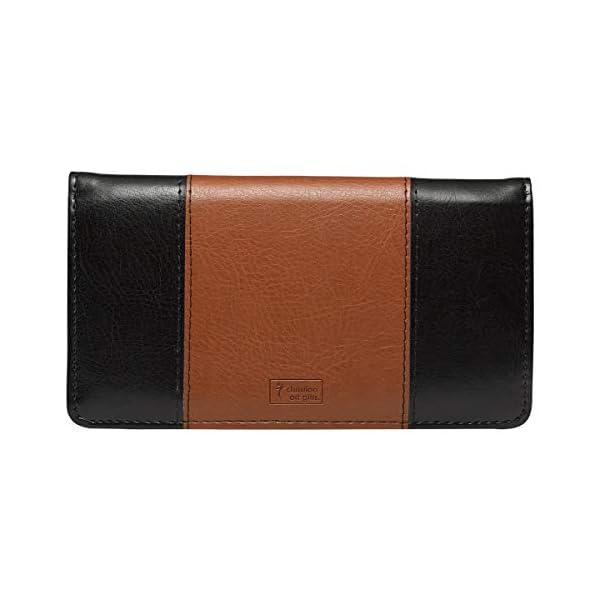 Checkbook Cover for Women & Men Christian Wallet, Faux Leather Christian Checkbook Cover for Duplicate Checks & Credit Cards…
