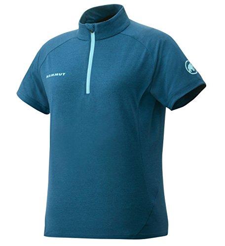 (マムート)MAMMUT アウトドアウェア Performance Wool Zip T-Shirts Women 1041-08590 5713 dark pacific XS