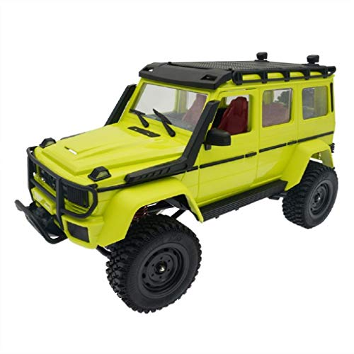 lahomia DIY MN86KS RC Crawler Kit 1:12 Escala High 4WD Coche - Verde