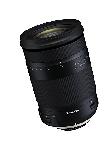 400mm nikon lens Tamron 18-400mm F/3.5-6.3 DI-II VC HLD All-In-One Zoom For Nikon APS-C Digital SLR Cameras (6 Year Limited USA Warranty)