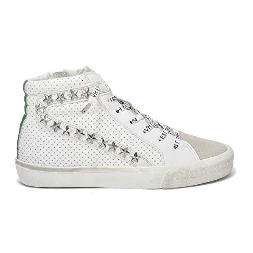 VINTAGE HAVANA Womens Gadol High Green/White Sneaker - 7