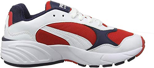 Puma Unisex-Erwachsene Cell Viper Sneaker, Weiß(Weiß (Puma White-High Risk Red)), 42