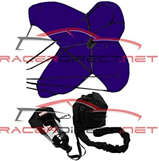RACERDIRECT 790 JR Dragster Parachute Spring Loaded Drag Racing Safety Chute Purple