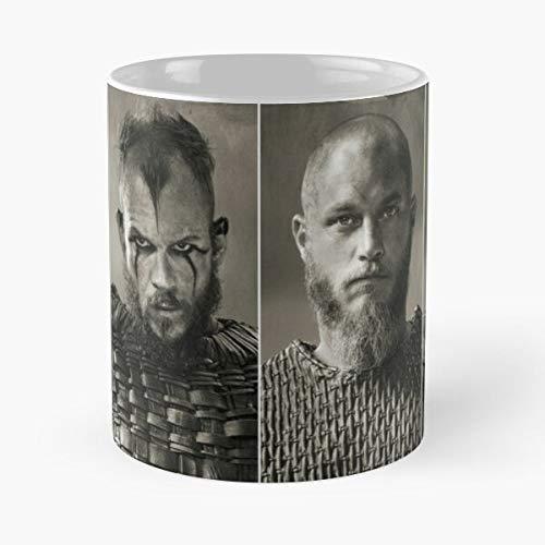 EpicwatchBands Series Ragnar Tv Vikings Bjorn Floki Rollo Best 11 oz Kaffeebecher - Nespresso Tassen Kaffee Motive