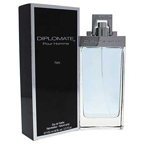 Diplomate Pour Homme Paris EDT 3.3 Oz by Paris Bleu Parfums