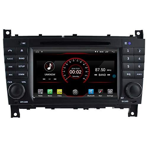 Autosion Lecteur DVD de voiture Android 10 GPS stéréo radio multimédia Wifi pour Mercedes W203 W209 W463 2004-2012 commande au volant