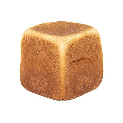糖質制限 低糖質 冷凍パン 然オリジナル大豆キューブパン 糖質1枚あたり3.7g イーストフード 乳化剤不使用 ローカーボ (1個)