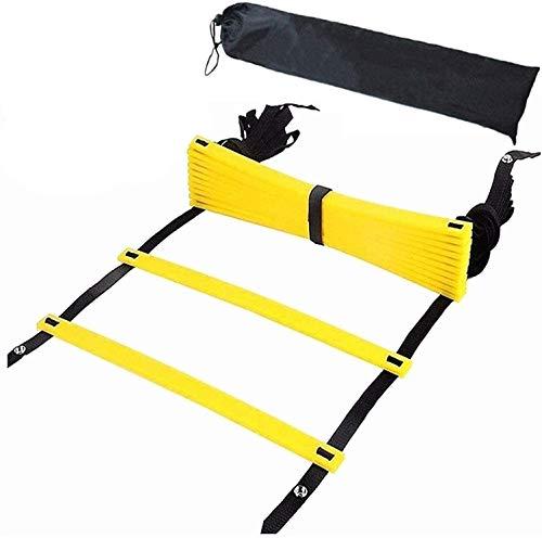 ラダー トレーニングラダー 7Mプレート13枚 収納袋付き 野球サッカートレーニング スピードラダー 瞬発力 敏捷性 アップ フットサル テニス 練習 トレーニングラダー ladder 7M13枚