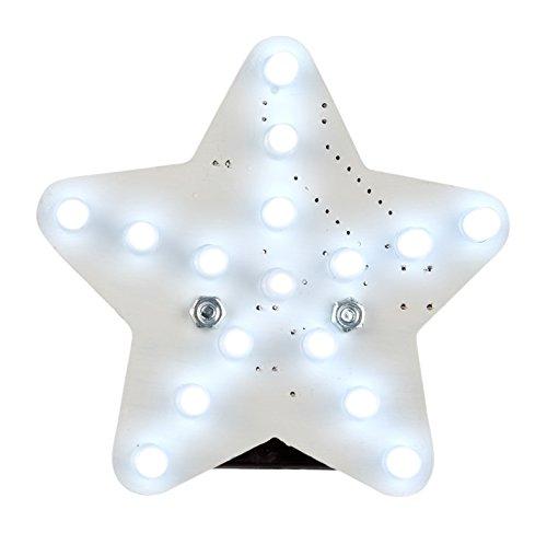 Velleman mk199 W étoile LED Mini Kit de Blanc