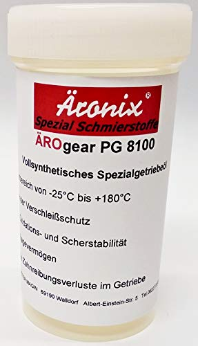 100ml Äronix Getriebeöl ÄROgear PG 8100 Getriebe Öl für Hilti TE 7A, 7C, 14,15,16,18,17,22,24,25,35,52,54,55,504,505,60,72,74,75,76,92,805,905