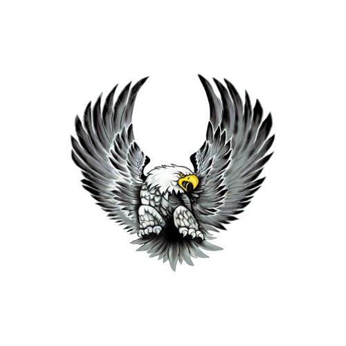 AUTOSTYLE Set d'autocollants Eagles - 2x 15x14,5cm